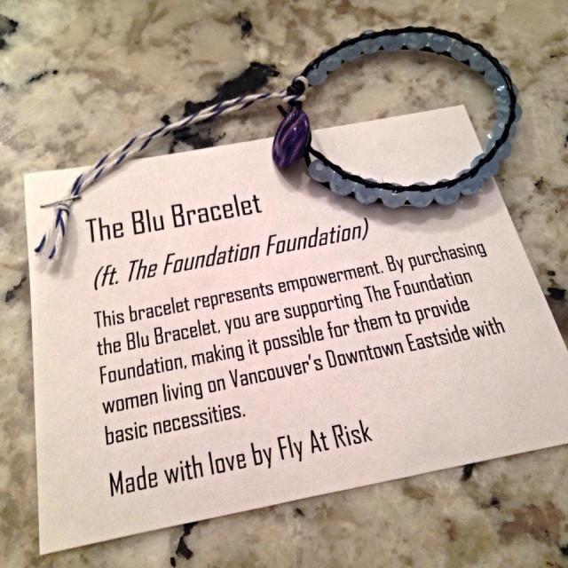 blu bracelet