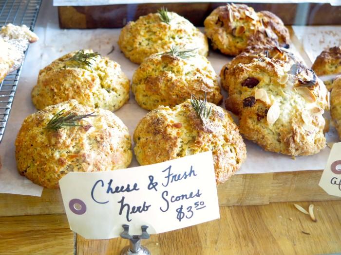 peppery scones