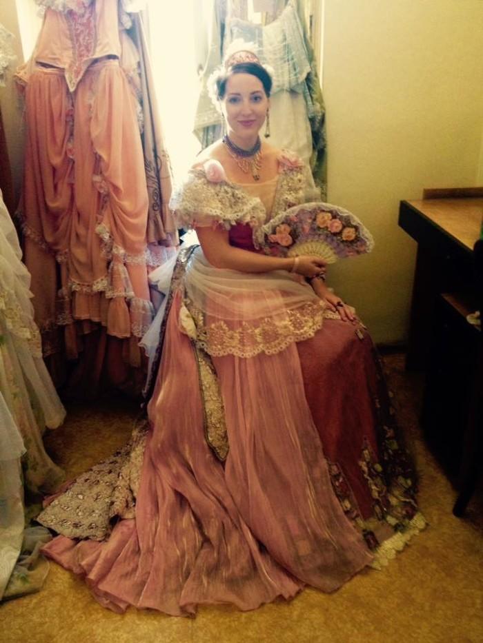 Behind the scenes. Violetta, La Traviata, Czech Republic