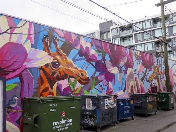full bloom mural