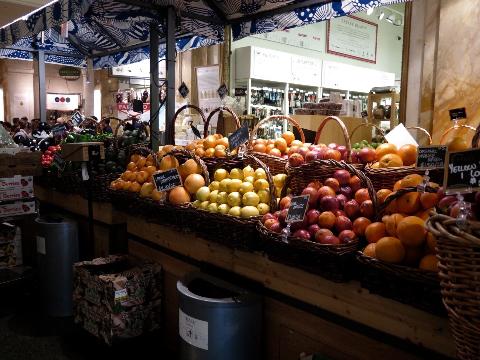 Fruit Flower Baskets Vancouver : Eating up eataly creators vancouver