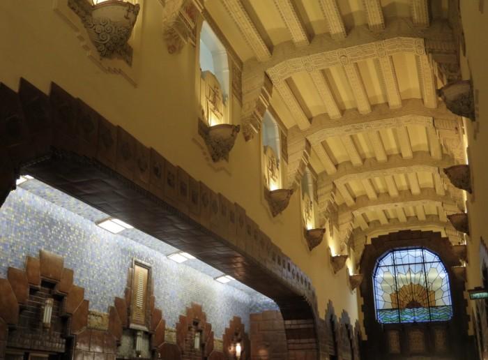 lobby tiles